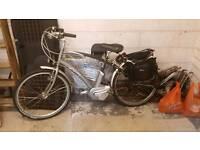 Giant la-free twist alux 6061 electric bike