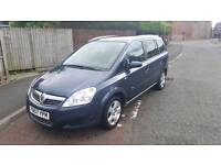 2008 vauxhall zafira 1.6 breeze 7 seater low miles facelift model
