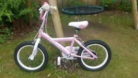 "Avigo Orchid Girls Bike 16 inch 16"""