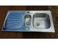 Lamona ( Howdens ) stainless steel kitchen sink inc fittings