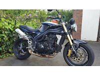 2005 Triumph Speed Triple - low mileage