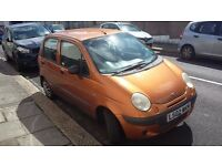 Daewoo Matiz, Incredible little runaround, spares/repairs or project, only 59k