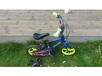 Boys 10 inch First Bike