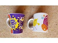 Two Easter Mugs