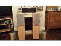 Speakers 5.1 surround sound