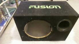 12 inch fusion bass box only