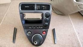 Honda EP3 EP2 Grey Centre Console + Door trims