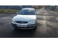 2004 ford mondeo LX 1.8 LITRE, petrol, 13 main dealer services history perfect condition in and out