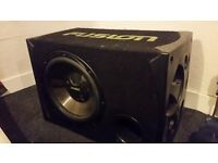 Fusion Passive 800W 8Ohm Sub-Woofer with enclosure.