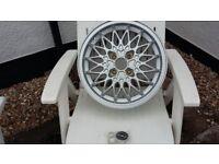 Vintage multi spoke alloy wheel