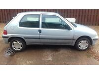 Peugeot 105 Independence, 2001, 3 owners from new, one years MOT, 34, 313 miles, service history
