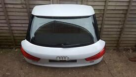 2012 Audi q3 rear boot lid in white complete