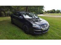 £3000 - VW Jetta 2.0 tdi (BKD) DSG gearbox, full heated leather