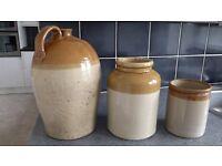 Stone jars