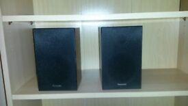 PANASONIC SB-PM4 Hi-Fi BOOKSHELF SPEAKERS 10W