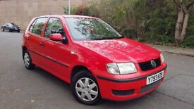 LOW MILEAGE LONG MOT CHEAP TO RUN VW POLO E 1.0 LITRE PETROL