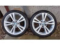 """BMW 1 series Style 385 18"""" Wheels and Pirelli Winter Tyres"""