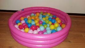 Paddling/ball pool and balls