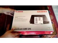 Brand New Canon Scanner Canoscan Lide 120