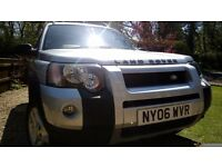 2006 SILVER LAND ROVER FREELANDER FREESTYLE TD4 4X4 STATION WAGON 5DR LOW MILES