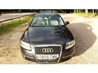 Audi A6 2.0 TDI 2006 Estate, service history, MOT 04/2018, new tyres, just serviced, bright leather
