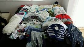 Baby boy bundle. All new. 90+ items 0-6 months