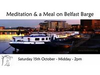 Meditation & a Meal on Belfast Barge – October 15th 2016