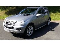 MERCEDES ML 300 CDI BLUE EFFICIENCY SPORT, BARGAIN IN SUPERB CONDITION WITH F.S.H.