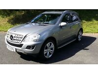MERCEDES ML 300 CDI BLUE EFFICIENCY SPORT IN SUPERB CONDITION WITH F.S.H.