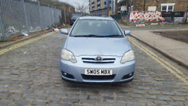 2005 Toyota Corolla 1.6 Blue 5dr hatchback Manual Petrol MOT Feb2019 all Previous MOTs 2owners