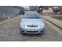 2005 Toyota Corolla 1.6 Blue 5dr hatchback Manual Petrol MOT Feb2019 all Previous MOTs 2owners
