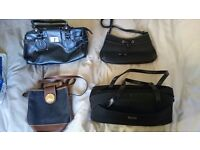 4 Different handbags