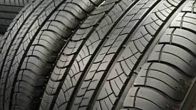 235 55 17 Michelin Latitude (A Tyres) x2 Pair FREE FITTING