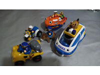 Selection of WOW! Toys for toddlers Police Car, Boat and Quad