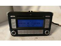 Radio Cd MP3 Genuine Vw Golf Passat Jetta EOS with code
