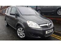 2010 Vauxhall Zafira 1.9 CDTi Elite 5dr MPV, Warranty & Breakdown Available, £3,295