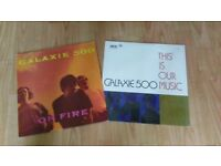 2 x vinyl LP's - galaxie 500 - on fire / this is our music