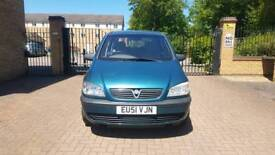 Vauxhall zafira 1.6 7 seter