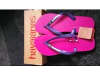 Havaianas flip flops size 7-8