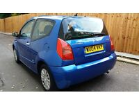 Citroen c2 sx 1.1 petrol * Ideal First Car * same as polo,corsa,fiesta