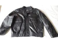 Man's Leather Jacket Size 41-43