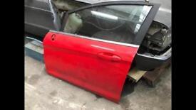 Ford Fiesta MK7 Race Red Front Passenger Door