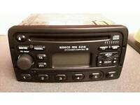 Original ford car stereo comes with code..