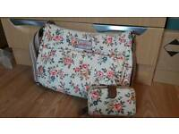 Matching cath kidston bag and purse set