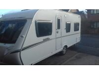 FIXED BED CARAVAN. LOVELY 2008 ABBEY VOUGE. MOTOR MOVER CRIS REGISTERED. EVERYTHING NEEDED FOR HOLS.