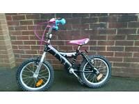 """Girls 16"""" monster high bike"""