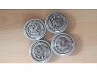Vauxhall Alloy wheels cups,