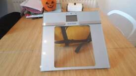 Salter bathroom scales with bmi