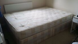 Double bed + base