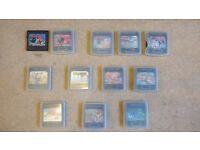 Sega Gamegear games (various x12)